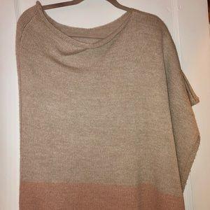 Loft shawl sweater
